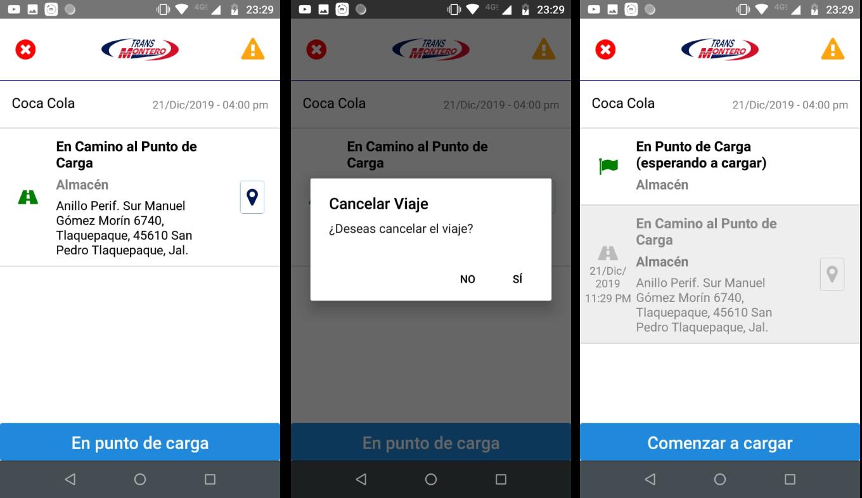 Panel Web / App Android / API REST - Transportes Montero - Imagen 1