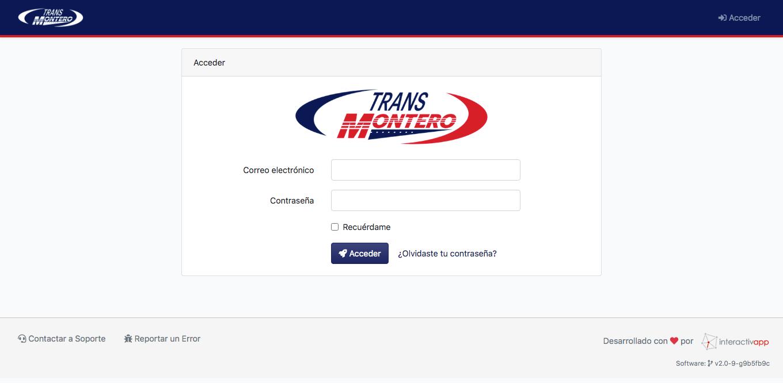 Panel Web / App Android / API REST - Transportes Montero - Imagen 2