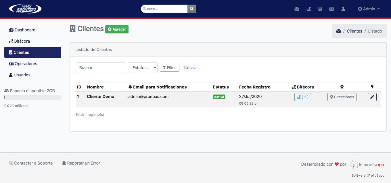 Panel Web / App Android / API REST - Transportes Montero - Imagen 7
