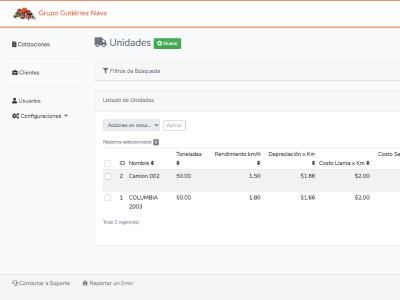 Aplicación Web - Servicio Gutiérrez Nava