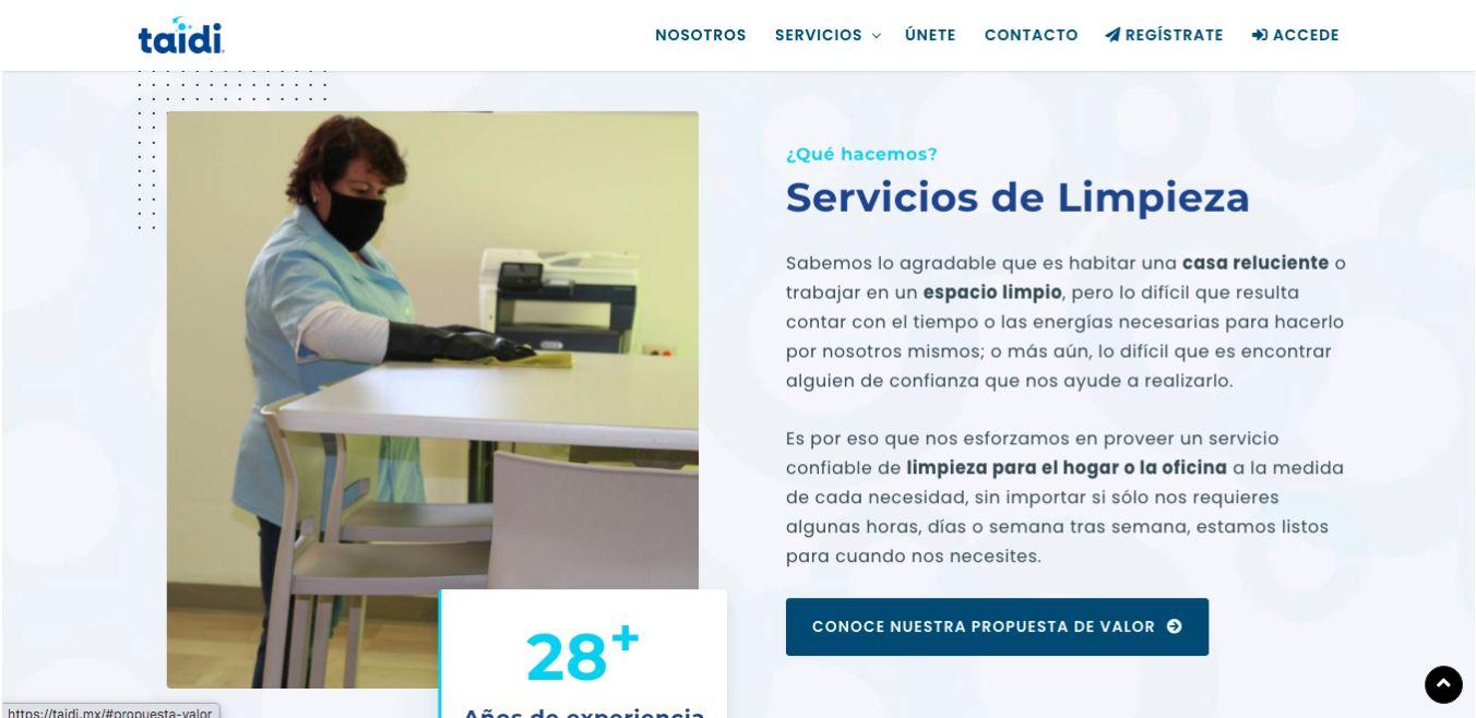 Página Web / Aplicación Web - Taidi.mx - Imagen 1