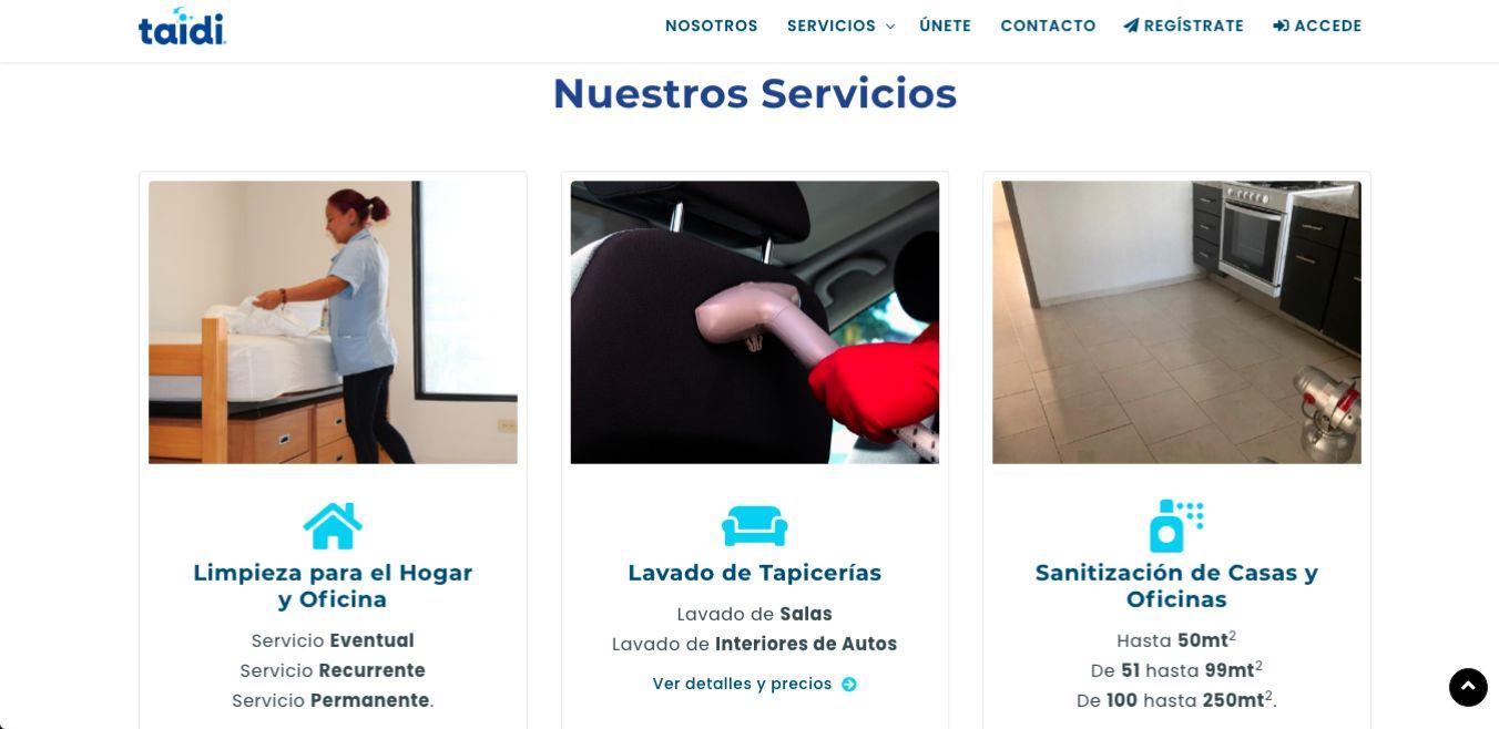 Página Web / Aplicación Web - Taidi.mx - Imagen 2