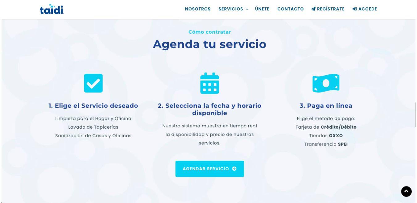 Página Web / Aplicación Web - Taidi.mx - Imagen 3