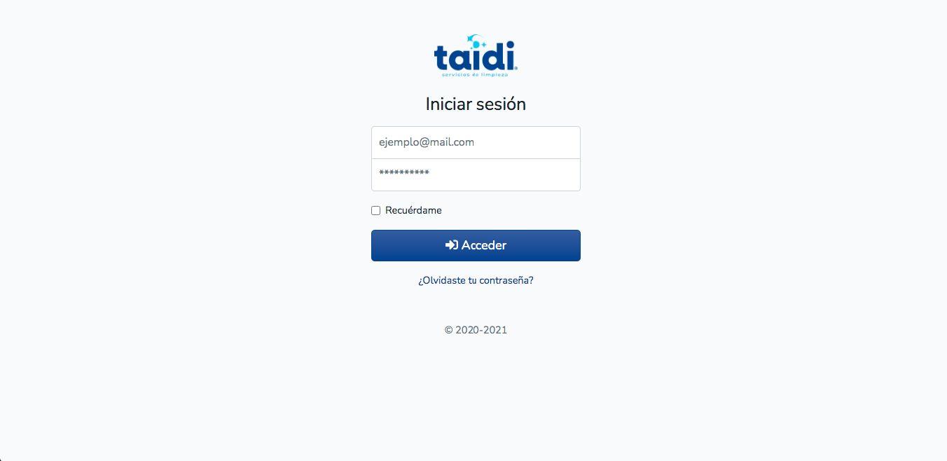 Página Web / Aplicación Web - Taidi.mx - Imagen 7